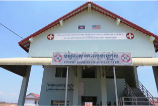 カンボジアでの社会貢献活動